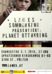 Sommerkino #1 2018 Flyer